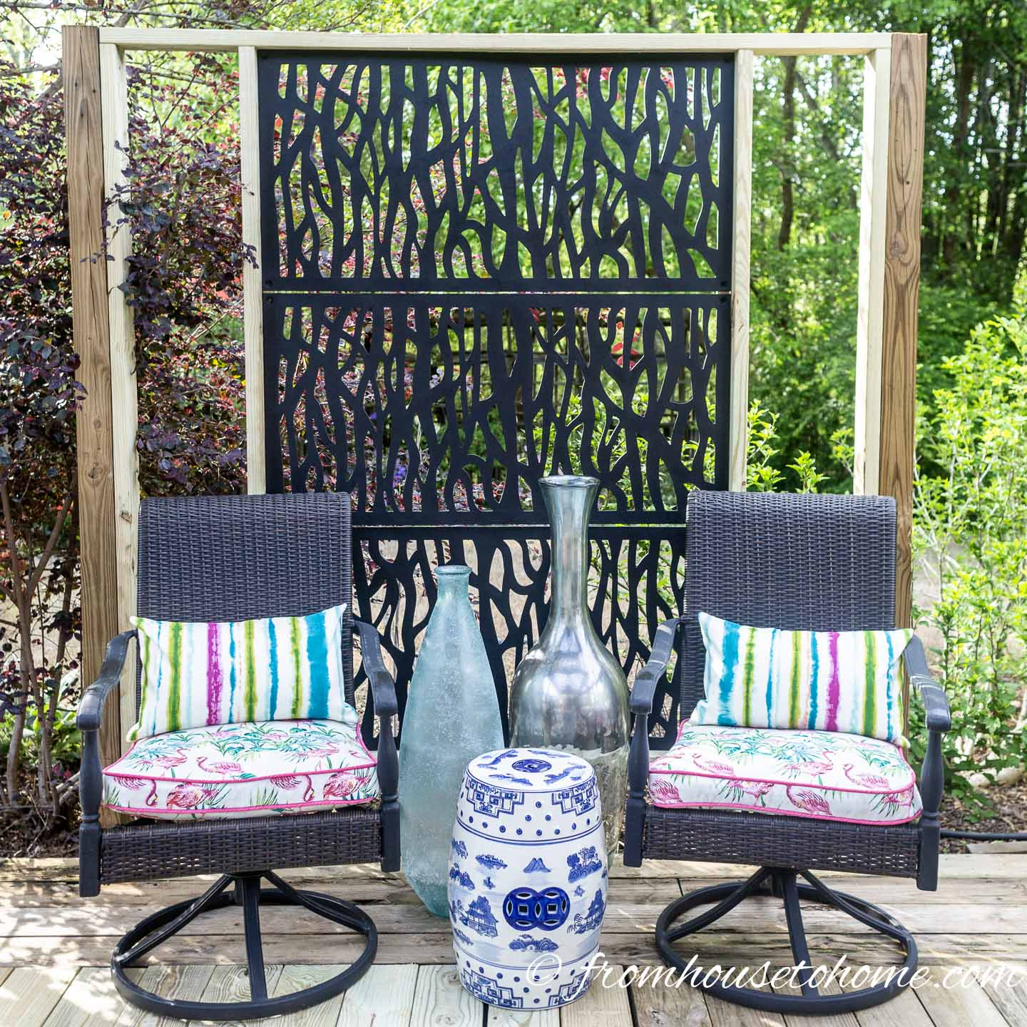 diy outdoor privacy screen how to