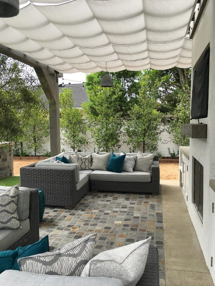 DIY Pergola Cover Ideas: 7 Ways To Protect Your Patio From ... on Patio Cover Ideas For Rain id=25351