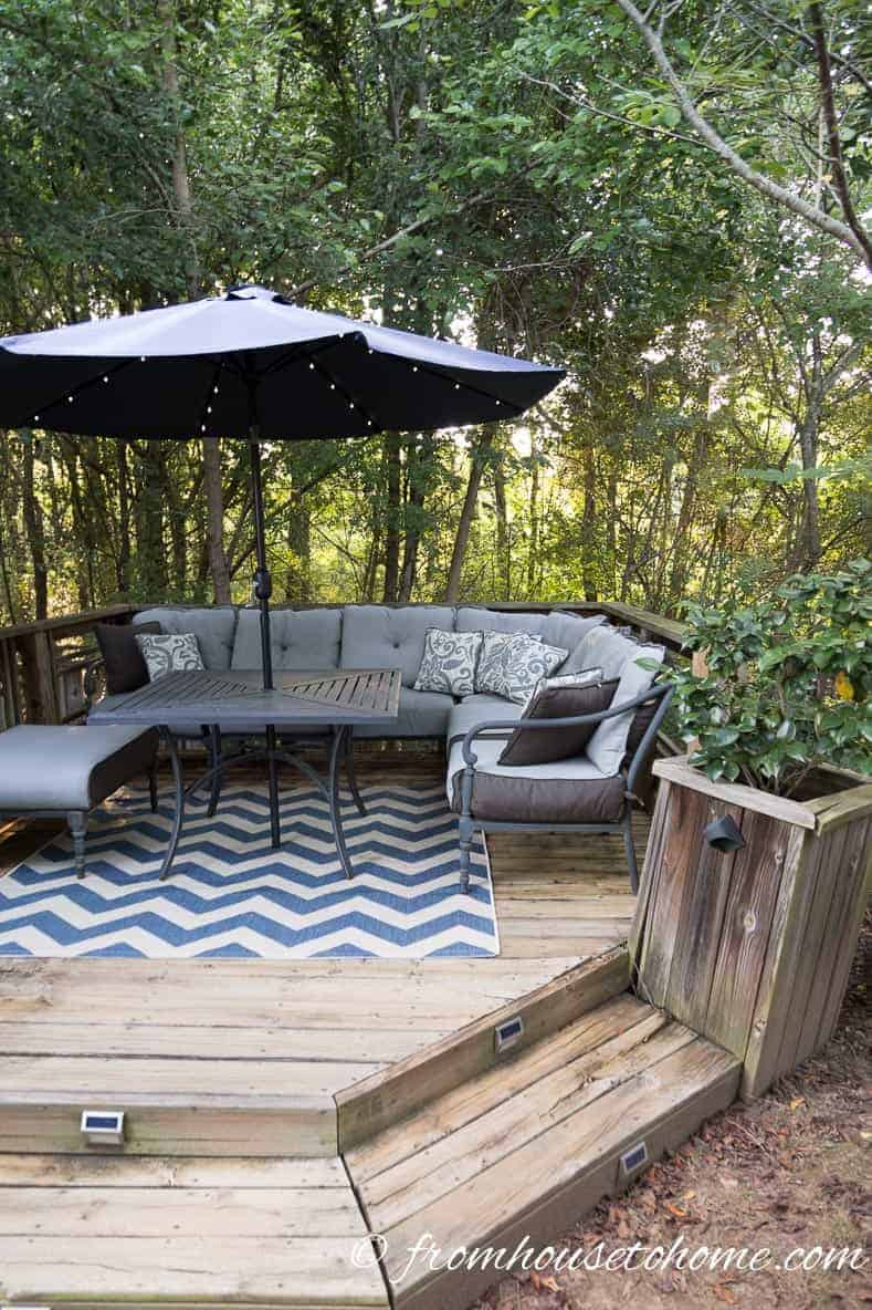 Small Patio Decorating Ideas That Make Your Deck Into An ... on Backyard Patio Decorating Ideas id=21486