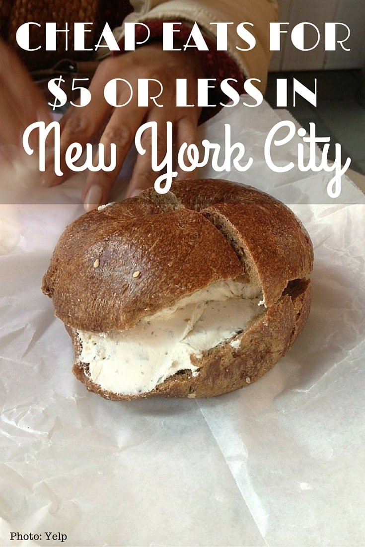 Cheap Eats for $5 or Less in New York