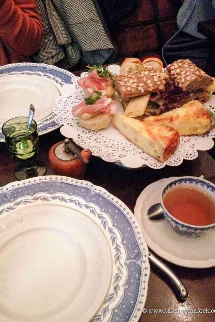 High Tea Time at Gartine
