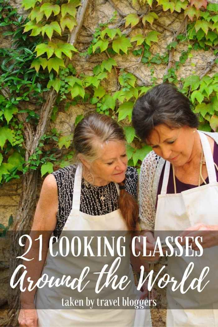 More Than 21 Cooking Classes Around the World