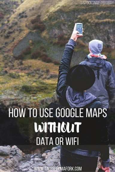 Learn how to use Google Maps offline without data or wifi. Save money on data and time getting lost! Click through to find out how.