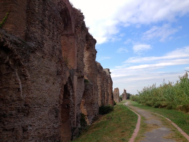 Aqueducts, ancient and crumbling