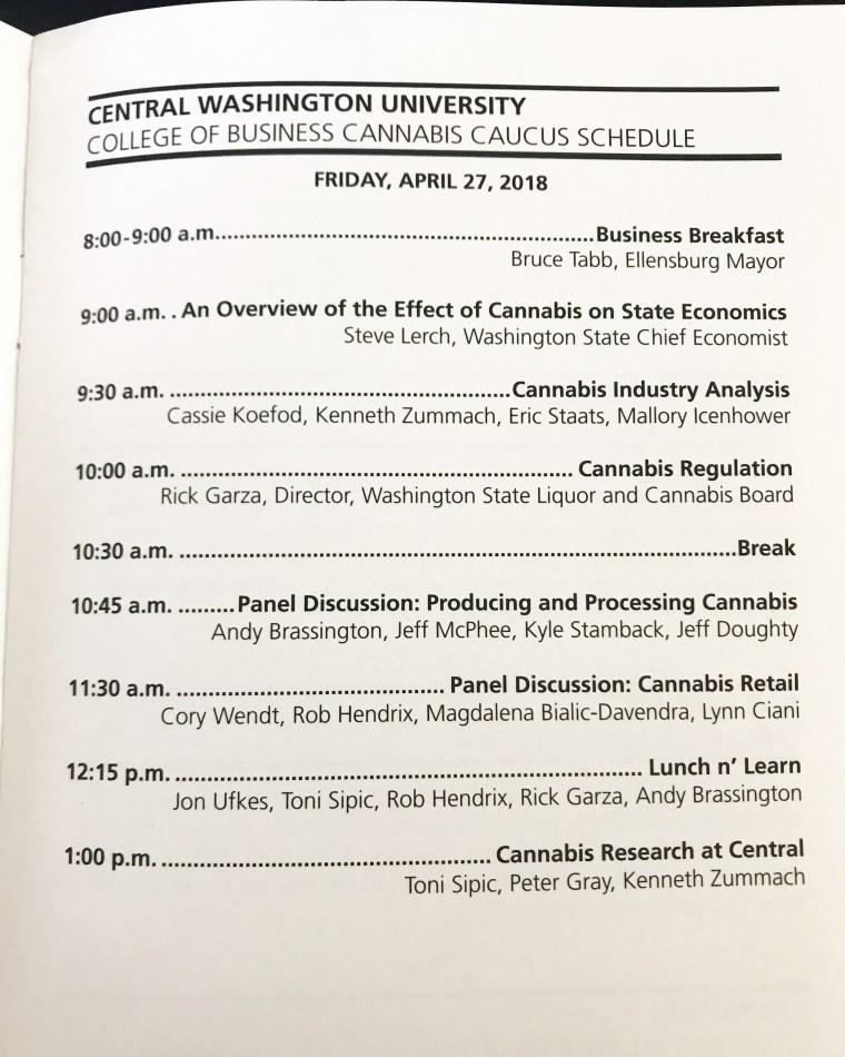 Cannabis Caucus at Central