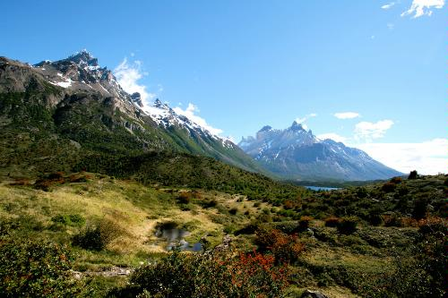 The French Valley of Torres del Paine National Park in Chile.