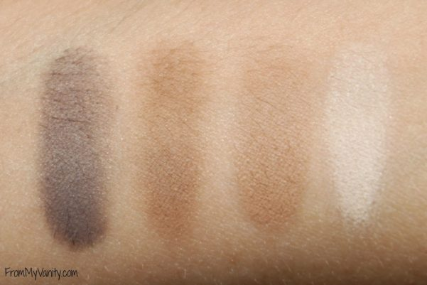 Physicians Formula Matte Collection Quad // Canyon Classic // =Swatches // FromMyVanity.com