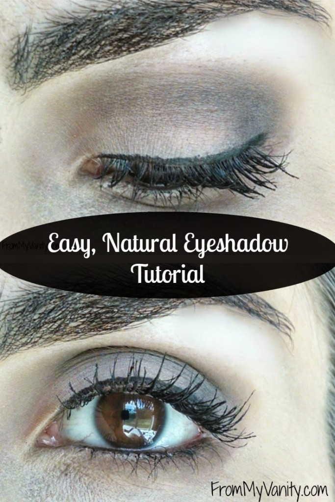 10 Steps to an Easy, Neutral Eyeshadow Look using the Classic ...