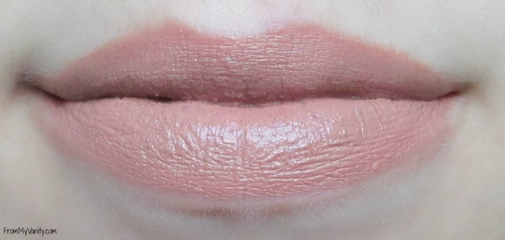Top 5 Nude Lips for Light Medium Skintone // Maybelline Creamy Matte Lipstick in Nude Embrace // FromMyVanity.com