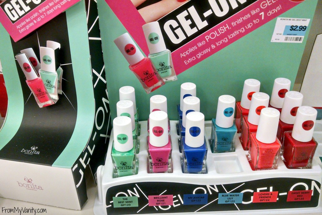 Bonita Salon Gel-On Nail Polish // In Store Display // From My Vanity // (www.frommyvanity.com) #ladykaty92