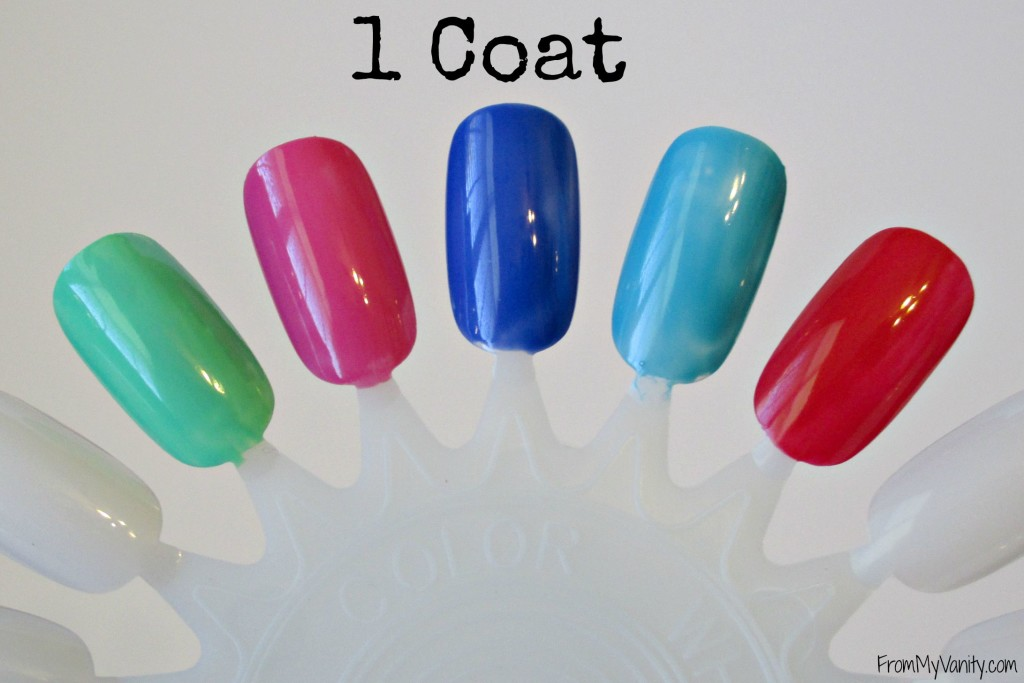 Bonita Salon Gel-On Nail Polish // 1 Coat // From My Vanity // (www.frommyvanity.com) #ladykaty92