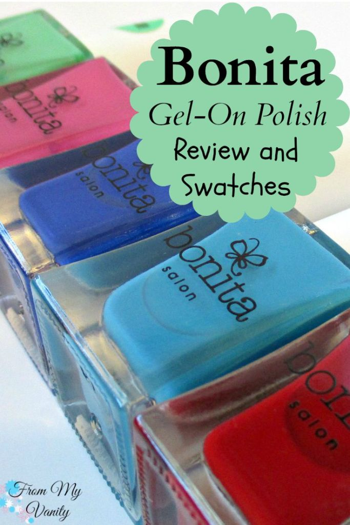 Bonita Salon Gel-On Nail Polish // Review & Swatches // From My Vanity // (www.frommyvanity.com) #ladykaty92
