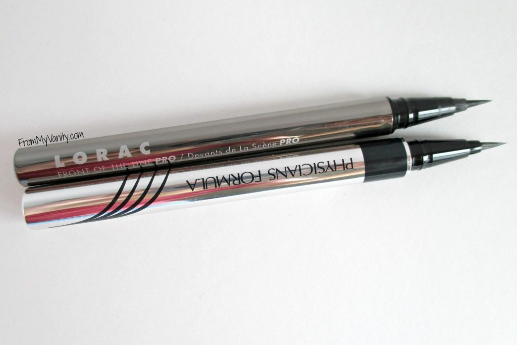 Are They a Dupe or Dud // Lorac VS Physicians Formula // Liquid Eyeliners // From My Vanity
