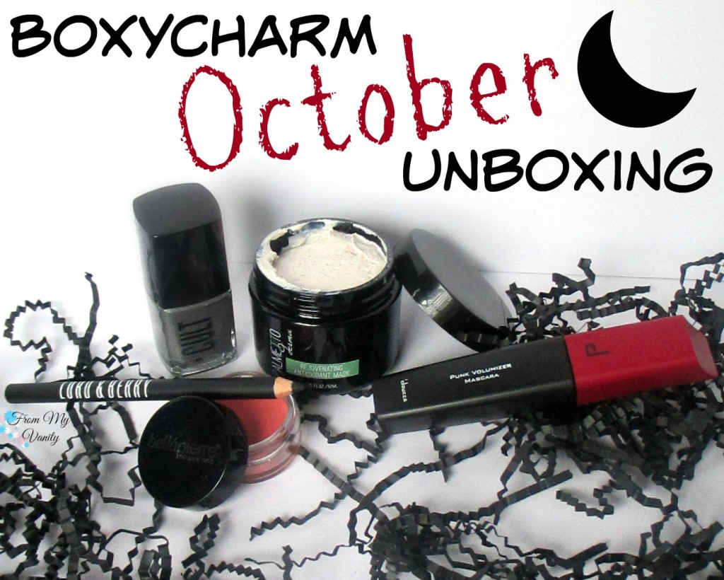 BoxyCharm's October Unboxing & Mini Reviews // #BoxyCharm FromMyVanity.com