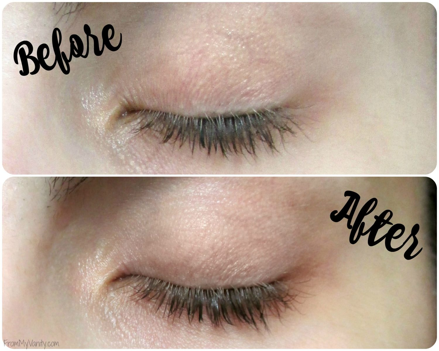Grande Lash MD's GrandeLASH, GradePRIMER, and GrandeMASCARA Review // Before and After Pictures // 4 Weeks // #GrandeLashMD #LongLashes // FromMyVanity.com