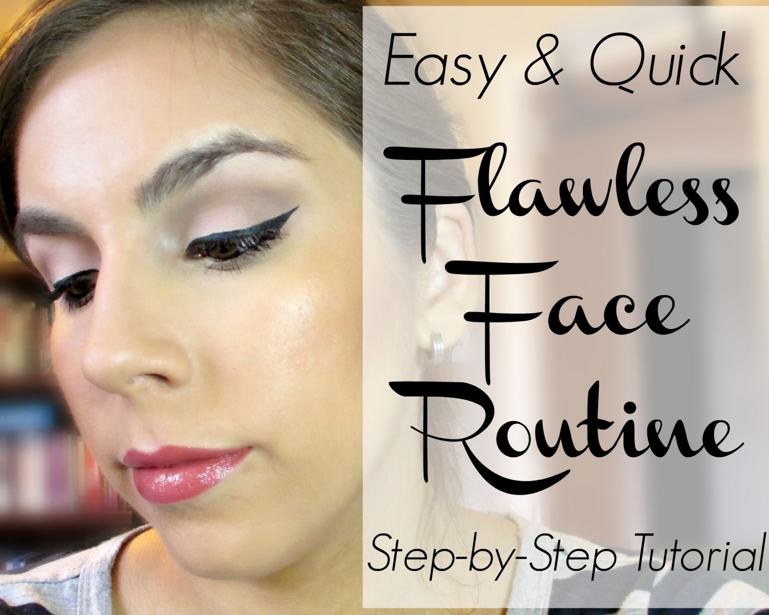 Flawless Face Routine // LORAC POREfection Tutorial // FromMyVanity.com