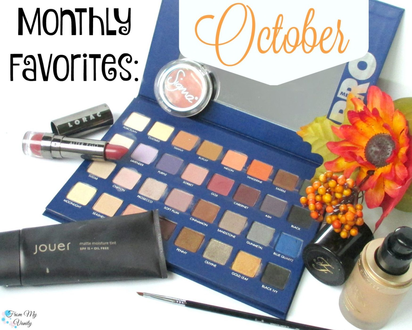 Monthly Beauty Favorites // October 2015 // FromMyVanity.com