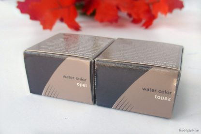 Osmosis +Colour Water Color Eyeshadow // Review & Swatches // Boxes // #Osmosis #looseeyeshadow FromMyVanity.com