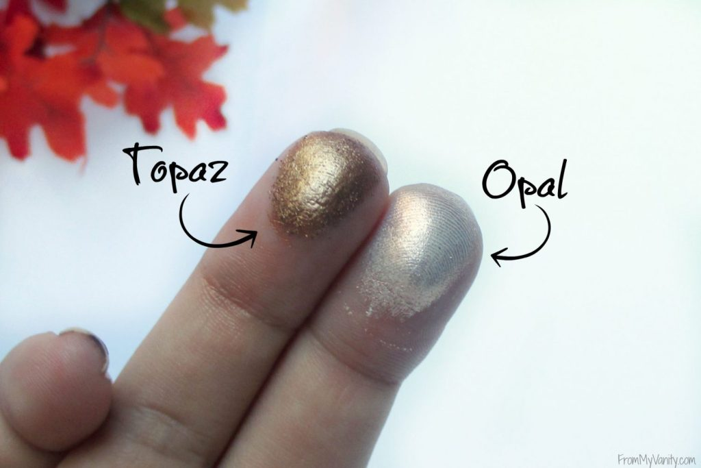 Osmosis +Colour Water Color Eyeshadow // Review & Swatches // Finger Swatches // #Osmosis #looseeyeshadow FromMyVanity.com