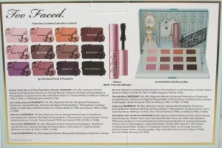 Too Faced La Petite Maison // Holiday Set // Review & Swatches // Box Info // #UltaBeauty #TooFaced FromMyVanity.com