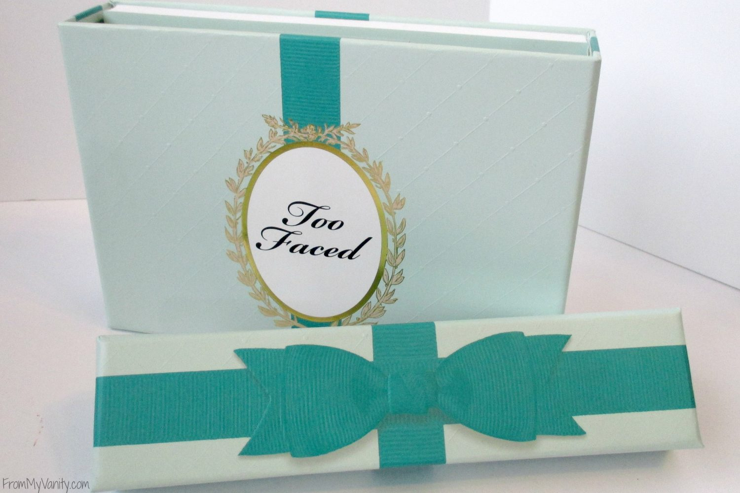 Too Faced La Petite Maison // Holiday Set // Review & Swatches // Bow on Box // #UltaBeauty #TooFaced FromMyVanity.com