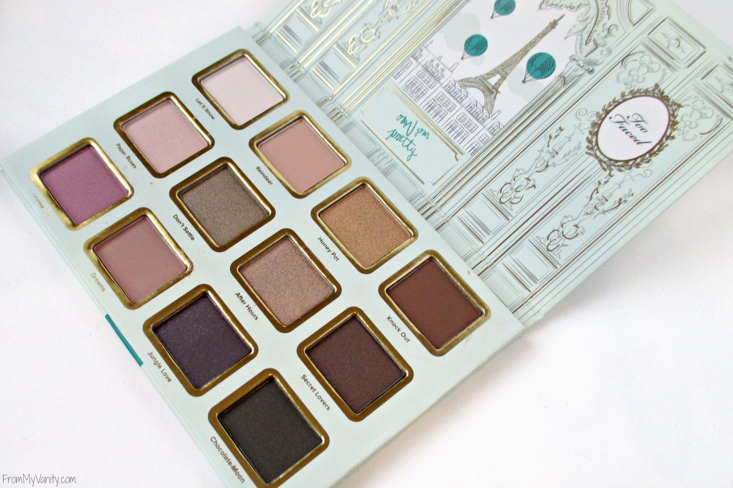Too Faced La Petite Maison // Holiday Set // Review & Swatches // Eyeshadow Palette // #UltaBeauty #TooFaced FromMyVanity.com
