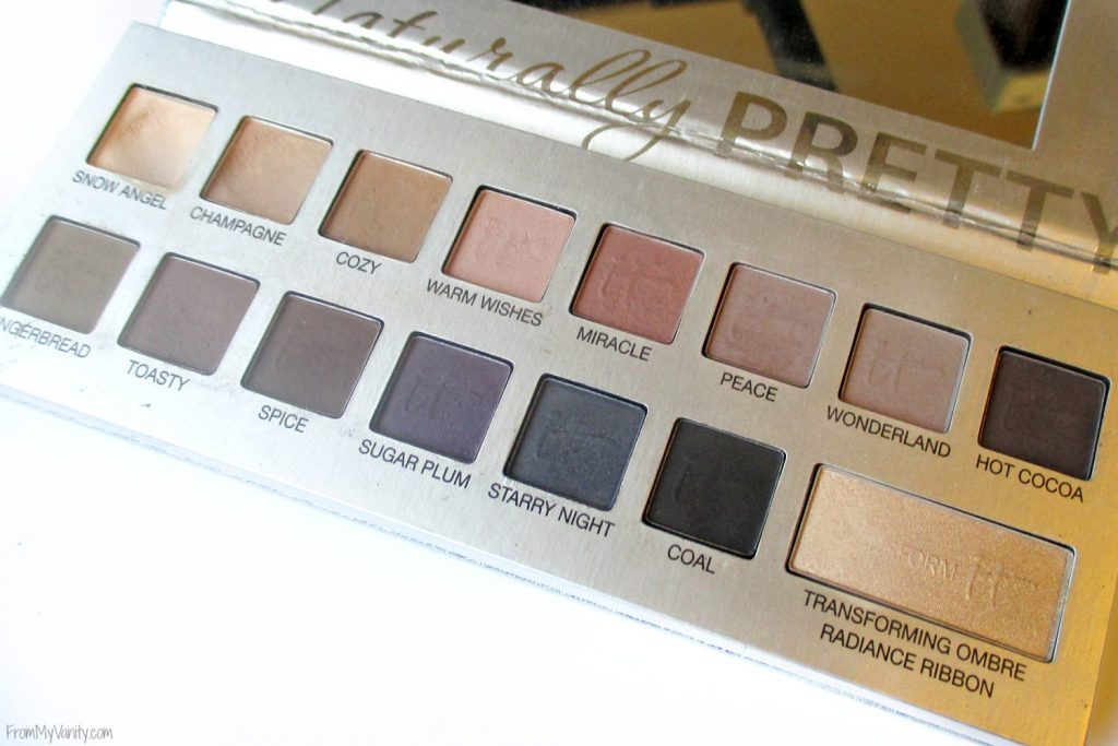 Top 10 It Cosmetics Product Recommendations // Friends & Family Sale // Naturally Pretty Celebration Palette // #ItCosmetics FromMyVanity.com