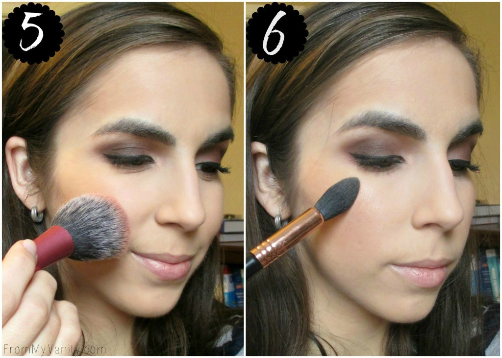 How to Contour for Beginners // Step-by-Step Tutorial // Blush & Highlight // FromMyVanity.com