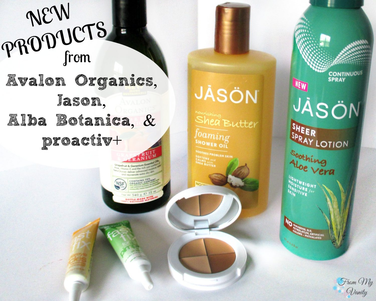 New Products from Avalon Organics, Jason, Alba Botanica, & Proactiv+ // @LadyKaty92 FromMyVanity.com