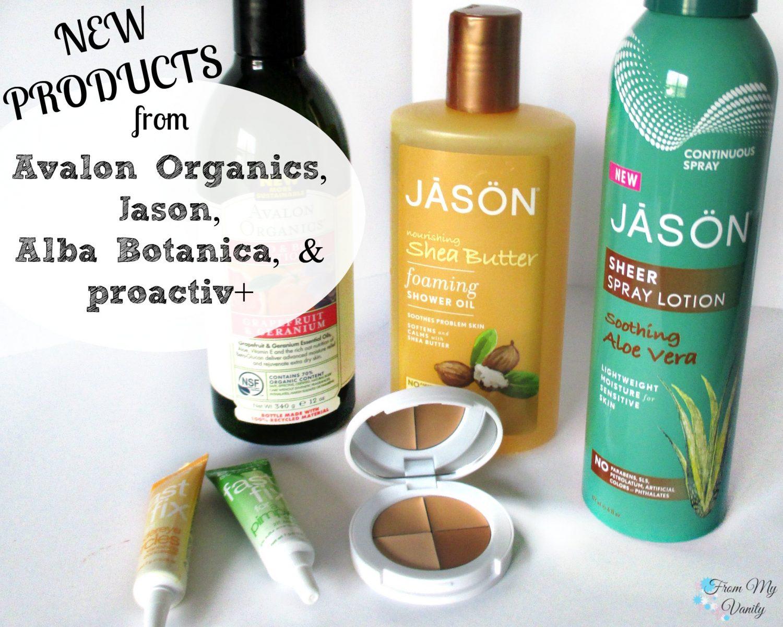 New Products from Avalon Organics, Jason, Alba Botanica, & Proactiv+ // @LadyKaty92 FromMyVanity.com