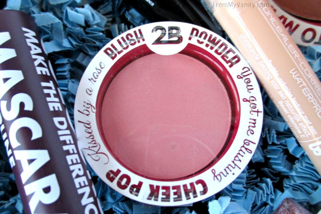 2B Colours blush is so light and pretty -- perfect for spring!