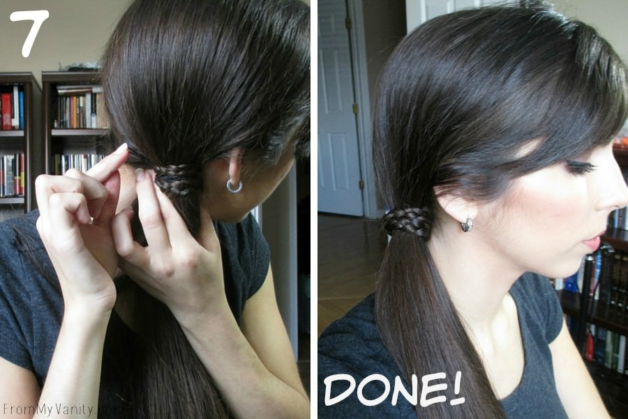 Quick Hairstyles for Busy Moms // Goody Brushes // Ponytail Finished Results // FromMyVanity.com #goody #hairstyles