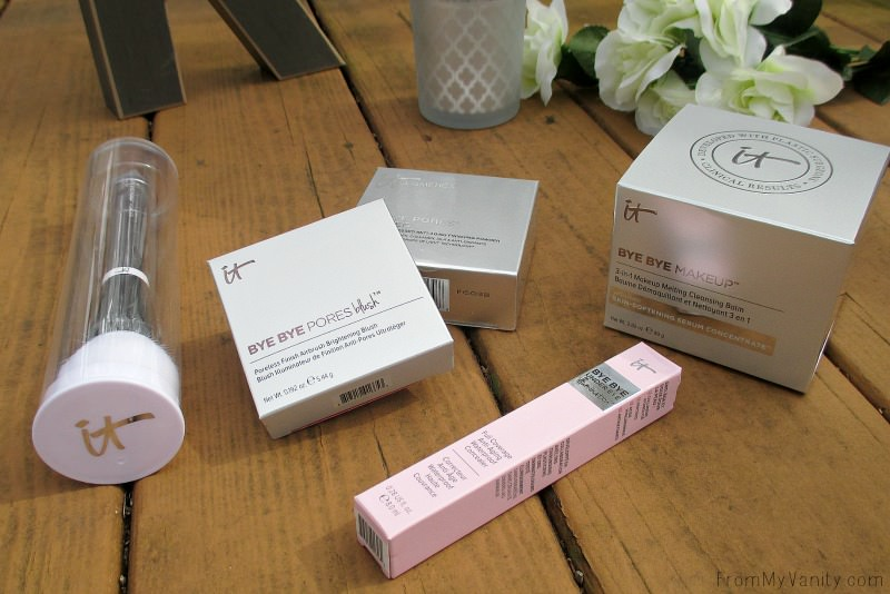 Why do companies have to make the boxes so pretty?! It makes them so hard to toss out after! | IT Cosmetics QVC TSV, IT's Your Bye Bye Collection