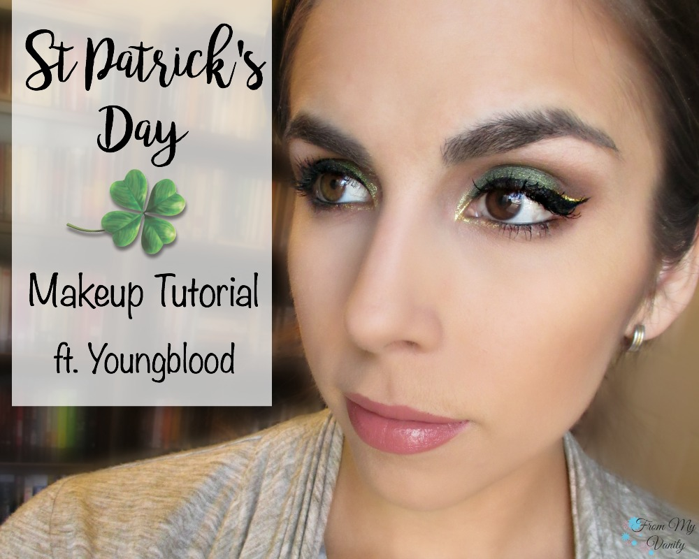 Easy St Patrick's Day Makeup Tutorial // Step-by-Step Eye look