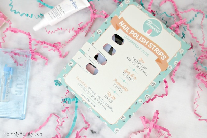 Beauty Box 5 -- Personail Nail Polish Strips from the Charmingly Cute Collection