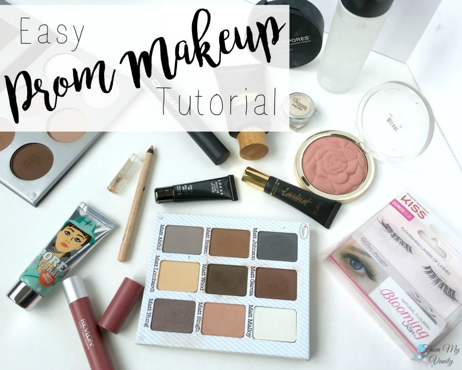 Easy and Romantic Prom Makeup Tutorial | FromMyVanity.com