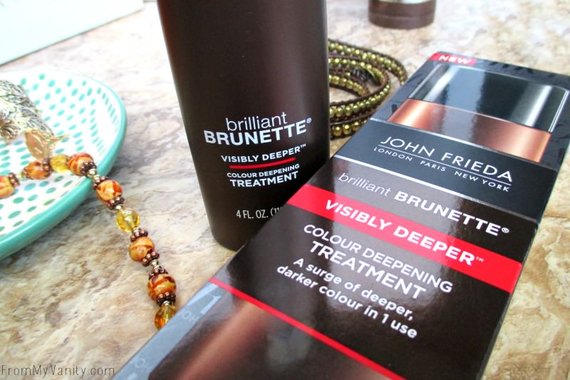 Brilliant Brunette® Visibly Deeper™ Colour Deepening Treatment   FromMyVanity.com