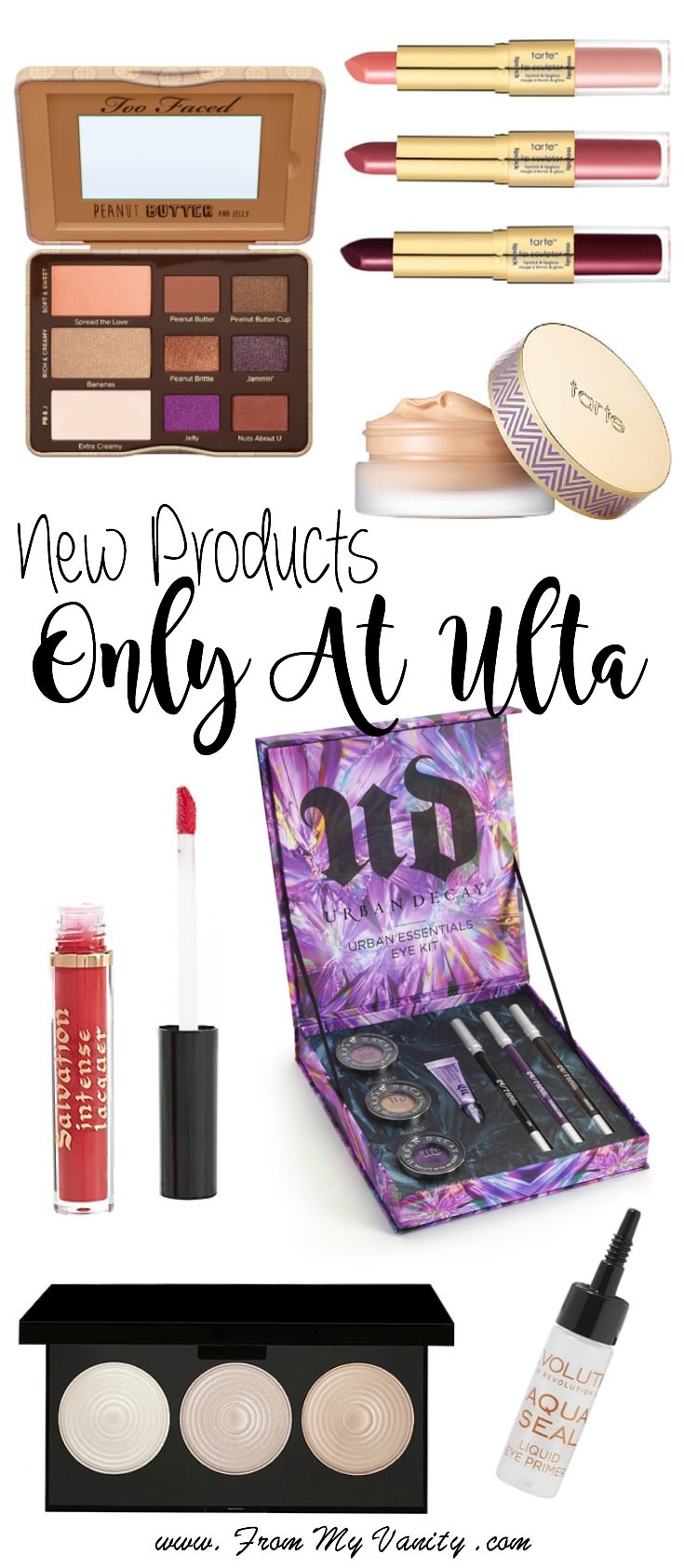 So many new products that you can get only at Ulta! I need to check these out!