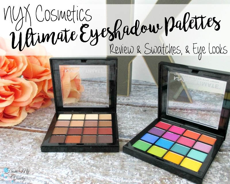 NYX Cosmetics NEW Ultimate Shadow Palettes are available at Ulta!
