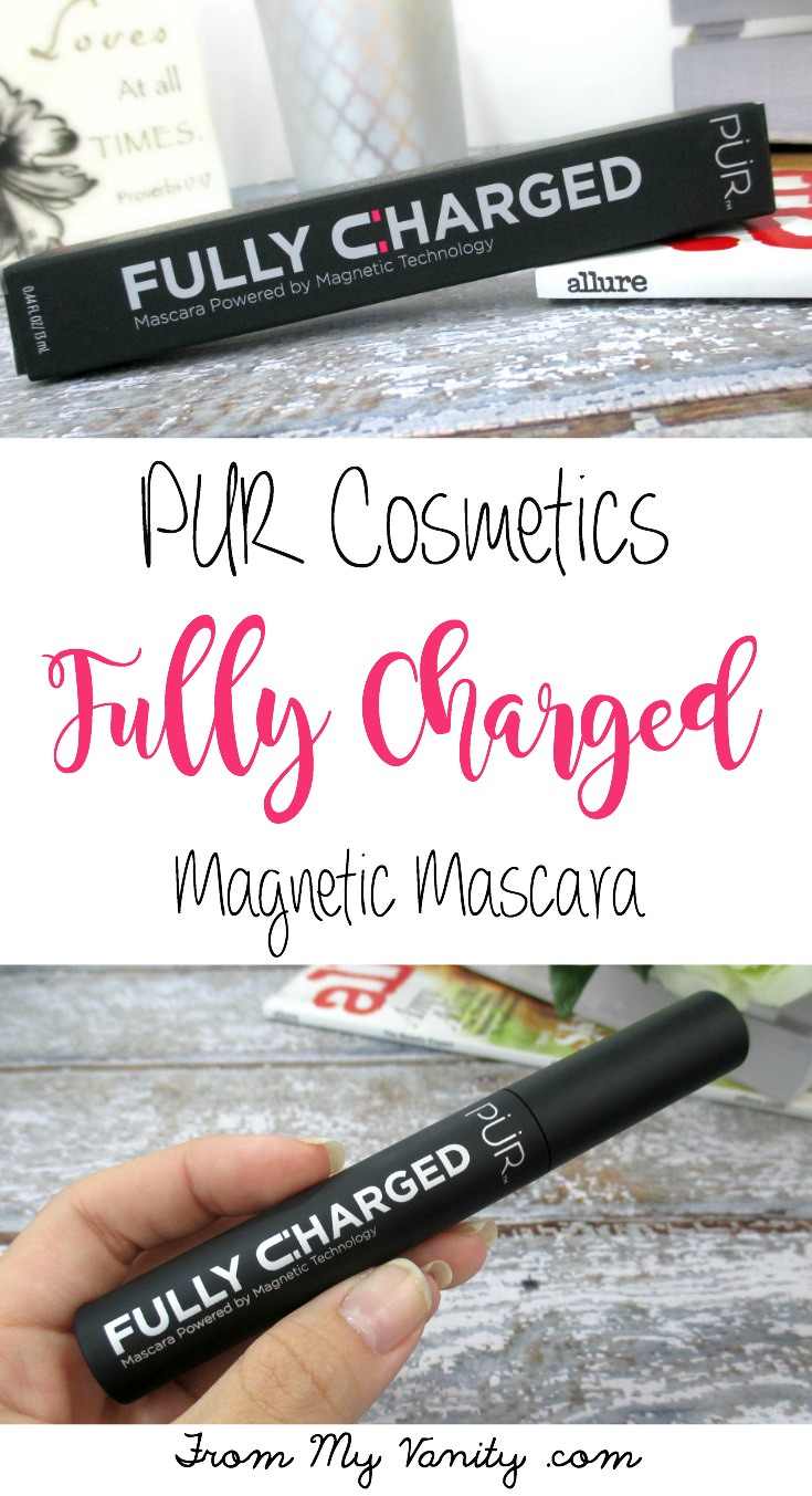 The results she got from PUR's Fully Charged mascara is impressive! Going on my wish list!