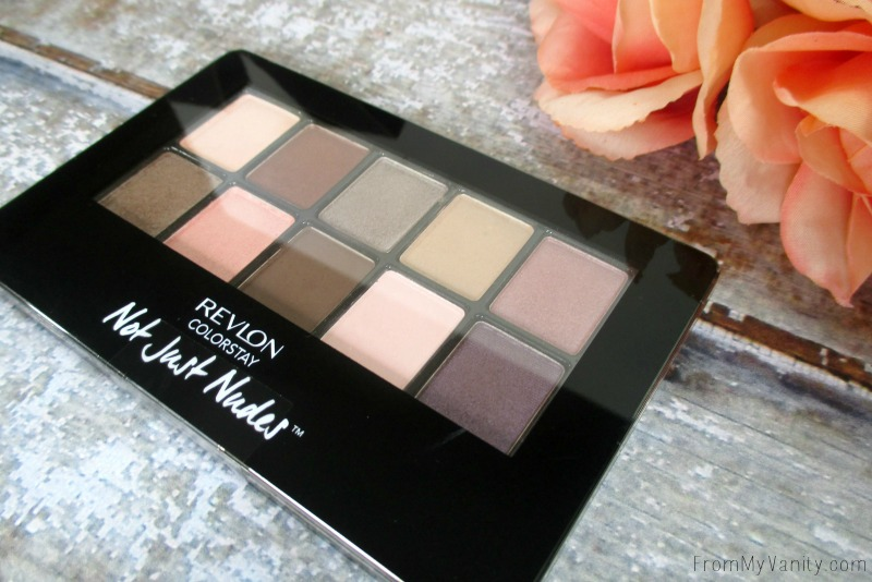 The NEW Revlon ColorStay Not Just Nudes palette is pretty | FromMyVanity.com