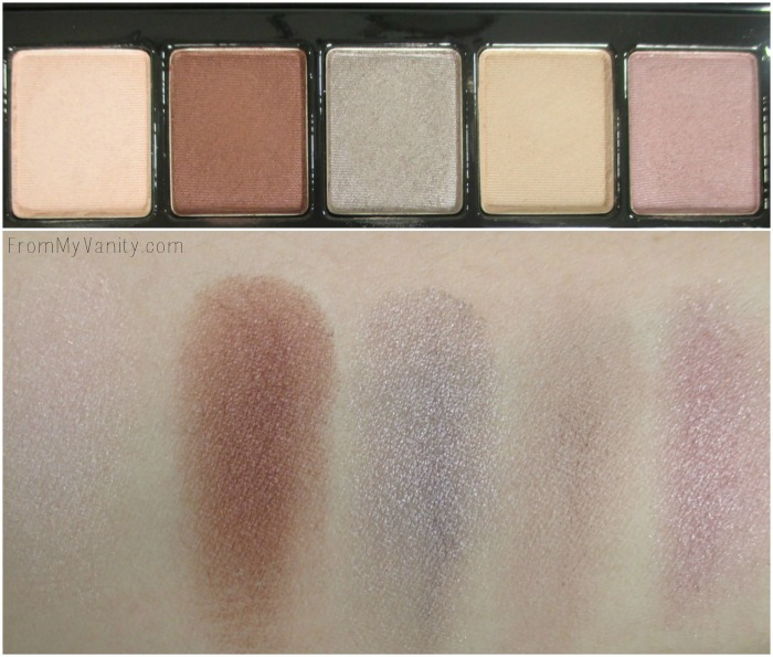 Revlon ColorStay Not Just Nudes | Romantic Nudes palette | First Row | FromMyVanity.com