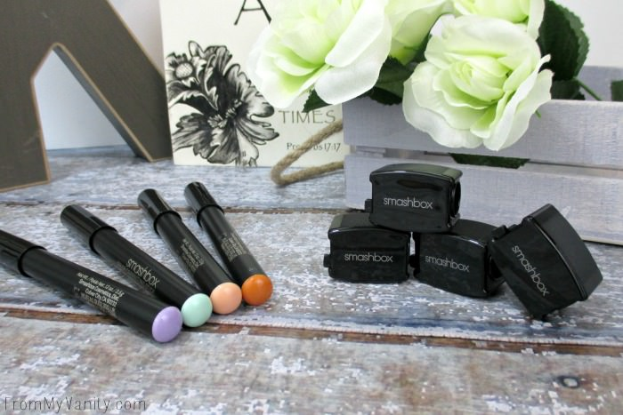 The Smashbox Color Correcting Sticks each come with their own sharpener!