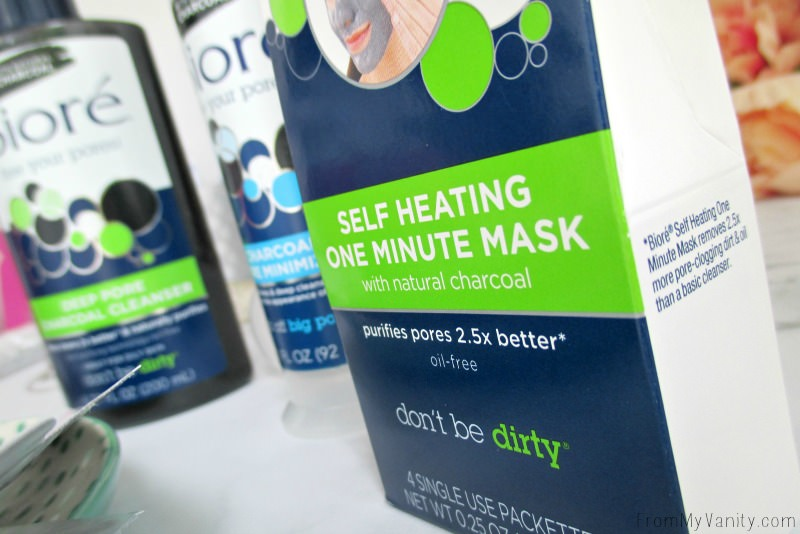 Have you tried this Bioré Self Heating One Minute Mask yet? So intrigued!