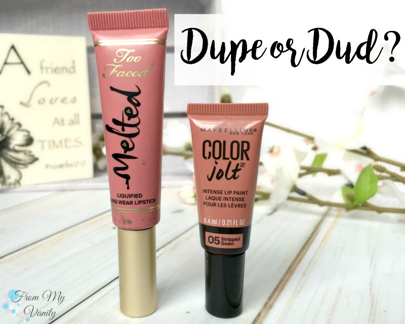 Is it a dupe for the Too Faced Melted Chihuahua?