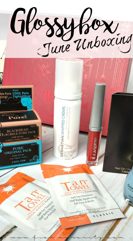Glossybox themed their June box around the Tony Awards. Check out what fun products they surprised their customers with this month!