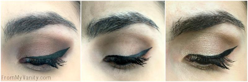 Eye looks created using the LORAC PRO 3 palette!