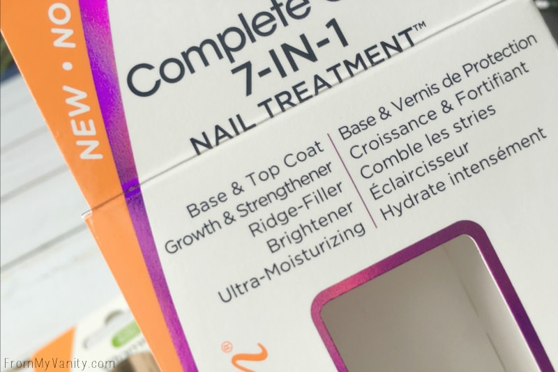 Details of the Sally Hansen Complete Care 7-in-1 Nail Treatment!