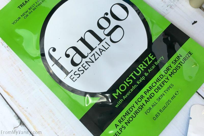 Fango Essenziali in the July Glossybox