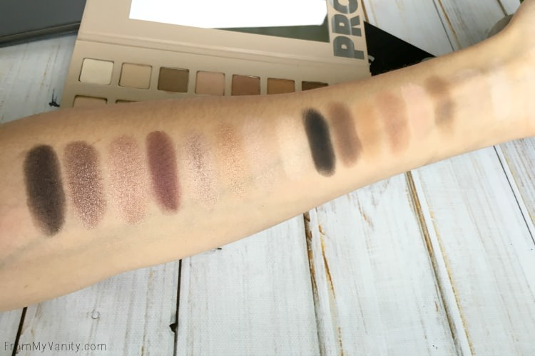 lorac-pro-comparisons-pro3-swatches